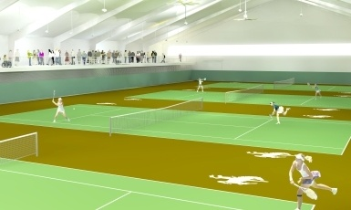 University Of Wyoming Indoor Tennis Facility Campaign National
